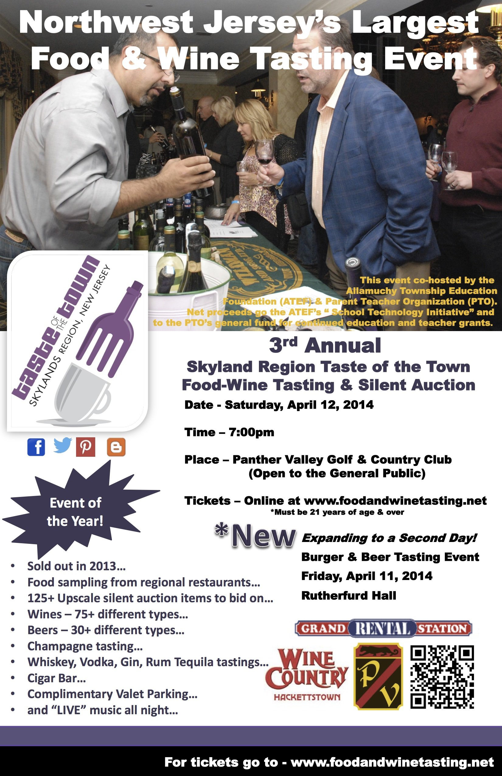 Taste of the Town Wine Tasting Event